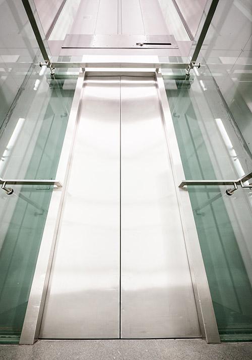modern elevator door - nice background